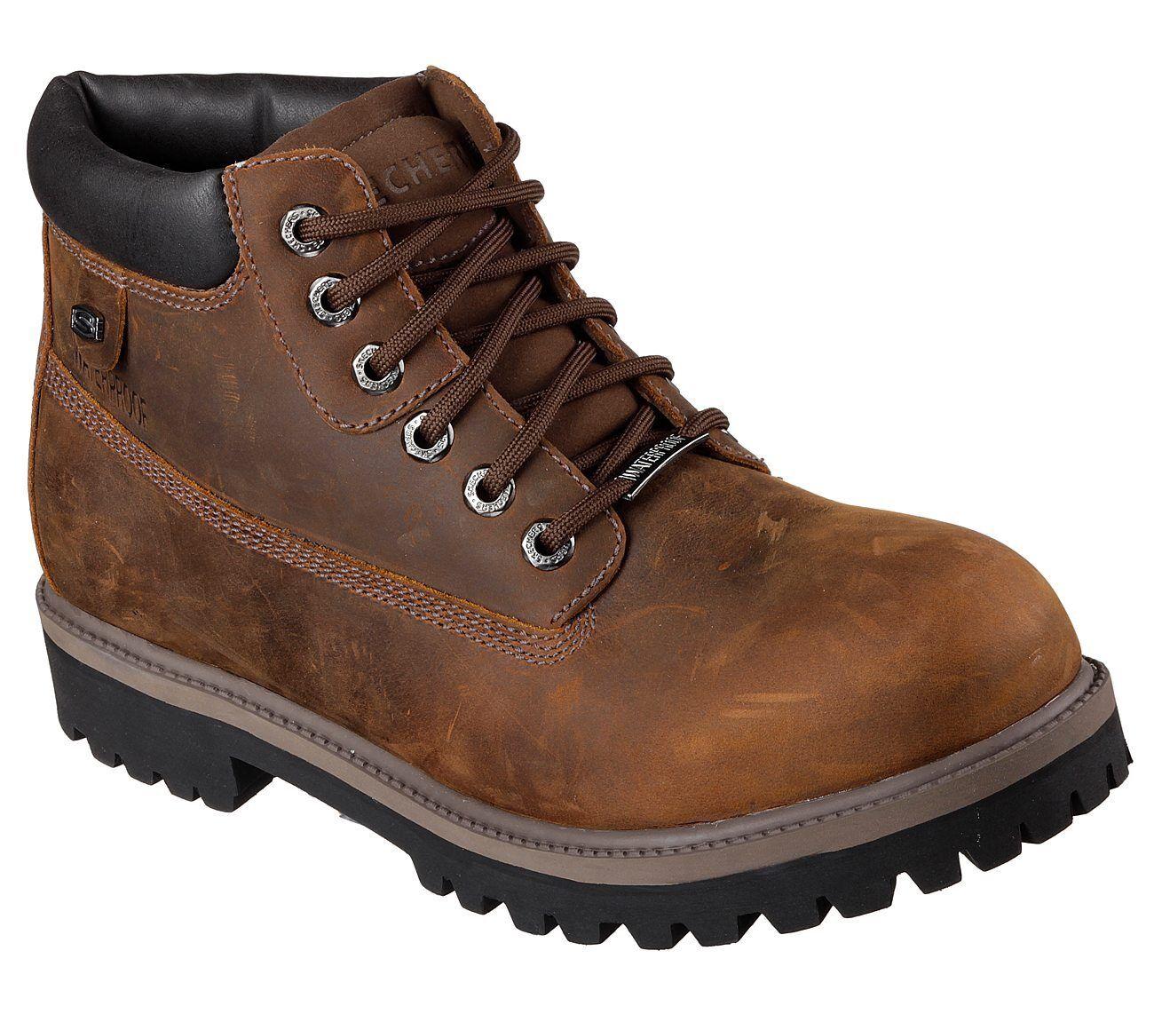Mens Skechers Verdict Brown Work Boot 4442