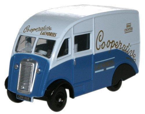 Oxford 76CM004 Commer Q25 Lastwagen Co-Op Wäsche 1/76 Neu Verpackt T48 W Spielzeugautos