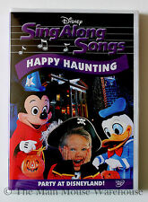 Disney Karaoke Halloween Happy Haunting Party at Disneyland Sing Along Songs DVD
