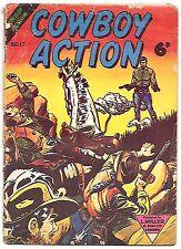 Cowboy Action #17 (L Miller & Son 1956, UK 28 pages) Frank Frazetta White Indian