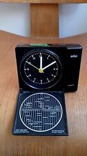 Vintage Braun AB 310 ts travel alarm clock Dietrich Lubs Dieter Rams 4858