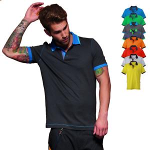 Hombre Contraste Bicolor S Urban Camisa Detalles Cuello Camiseta 3xl Polo De 7gYbv6fy