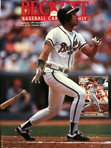 Beckett-Baseball-Monthly-Magazine-September-1991-78-Dave-Justice-Atlanta-Braves