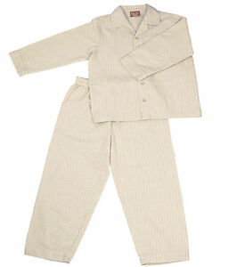 PYJAMA-SUIT-SLEEPWEAR-100-COTTON-SOFT-PINK-WHITE-THICK-STRIPES-3-5-YRS