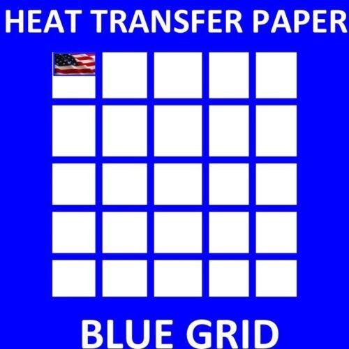 25 PK DARK TRANSFER PAPER FOR INKJET PRINTING 8.5X11 Sheets A+