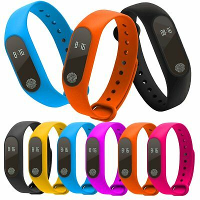 M2 Waterproof Sports Smartband Heart Rate Sensor Pedometer Bluetooth Smartwatch