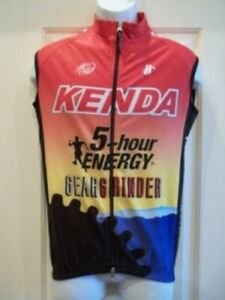 Kenda-5-hour-Energy-Hincapie-Men-039-s-Thermal-Vest-Small-Cycling