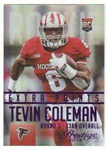 2015-Panini-Prestige-Rookies-Extra-Points-Purple-100-289-Tevin-Coleman-Falcons