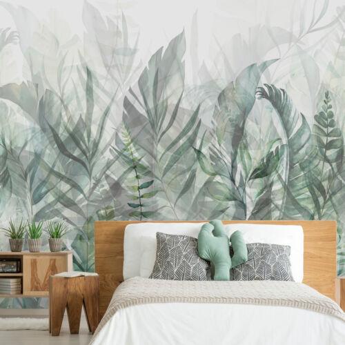Feuilles nature Botanique Toison papier peint Papier peint la fresque XXL 3 Couleurs b-a-0696-a-b