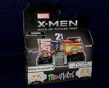 Marvel MiniMates 58 X-Men Days Future Past PROFESSOR X & MAGNETO Figure 2 PK