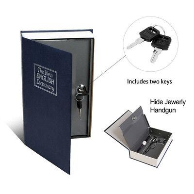 Dictionary Secret Book Safe with Key Lock Cash Money Jewelry Hidden Storage  Box 616043289069   eBay