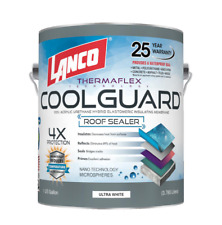 Seal Rubber Roof Coating 1 Gal Coolguard Epdm Rv Home Protect Waterproof Paint
