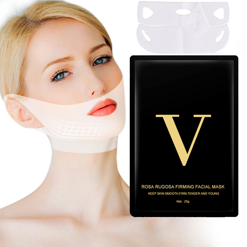 10pcs v shape thin face mask slimming