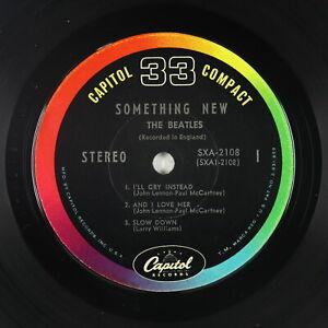 Jukebox EP - Beatles - Something New - Capitol - SXA-2108