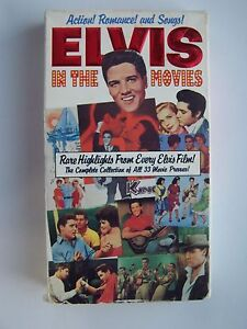 Elvis In The Movies - A Complete Film Documentary VHS V