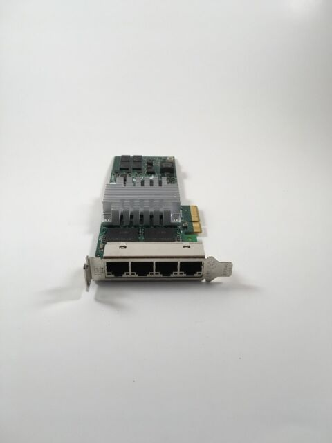 HP NC364T HSTNS-BN26 436431-001 PCI-E X4 FOUR PORTS Ethernet Network Adapter