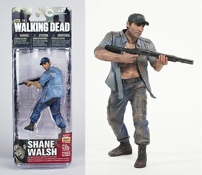 The Walking Dead Shane Walsh with Cap TV Series Action Figure Series 2 McFarlane