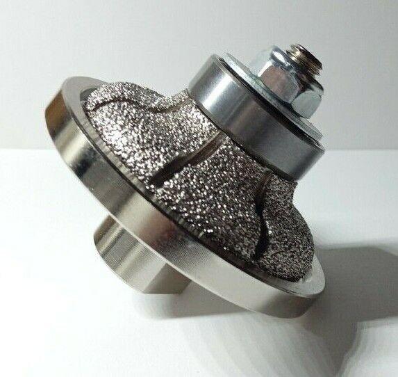 F15 15mm Ogee Diamond Profile Router Bit Stone Granite Marble M14