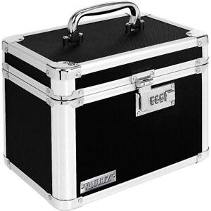 Vaultz Security Storage Box Black With Combination Lock 689719913353