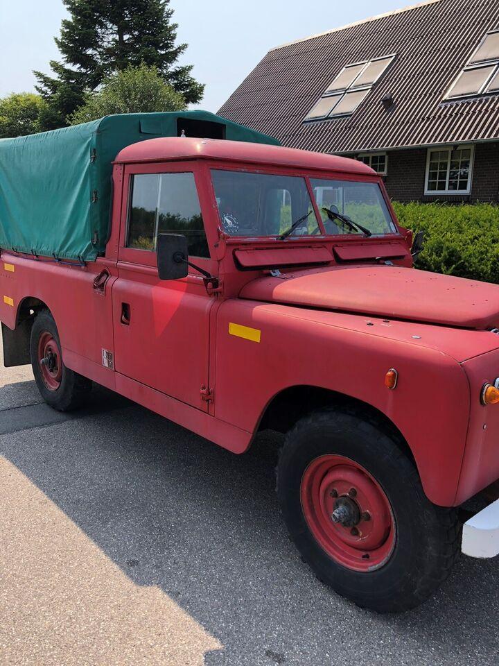Land Rover 109, Benzin, 1961