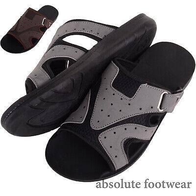 100% QualitäT Mens / Gents Light Weight Summer / Holiday / Sport Slip On Mule Sandals / Slider