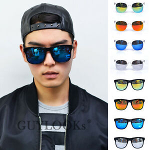 Thick Modern Eyebrow Top Mens Big Mirror Acetate ...