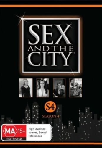 1 of 1 - Sex And The City : Season 4 (DVD, 2008, 3-Disc Set)