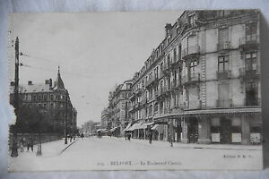 Cpa-tarjeta-postal-Belfort-bulevar-Carnot