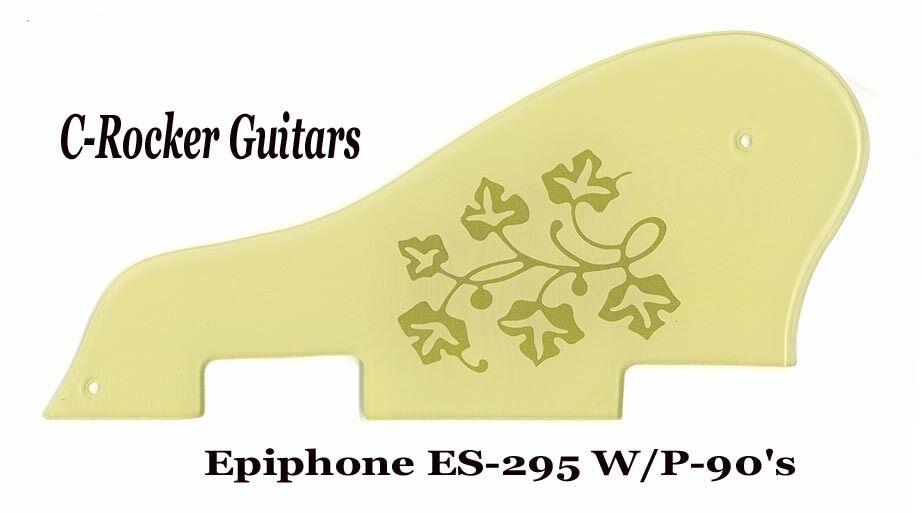 ES-295 ES295 Goldtop Creme & Floral Pickguard made for Epiphone Project NEW