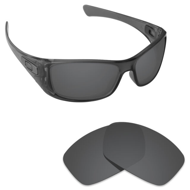 41ac070f8d Hawkry Polarized Replacement Lenses for-Oakley Hijinx Sunglass Stealth Black