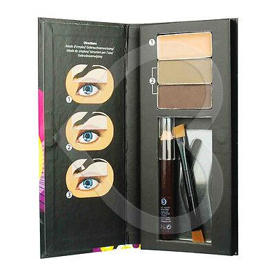 Technic Eyebrow Kit Perfect Brow Make Up, Powders, Wax, Stencils, Pencil & Brush