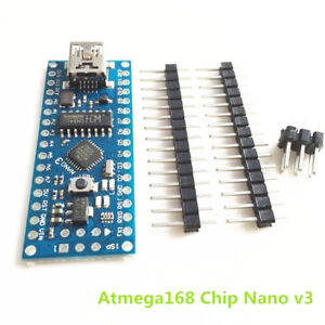 New Nano V3.0 ATmega168 CH340G mini USB compatibile Arduino NANO
