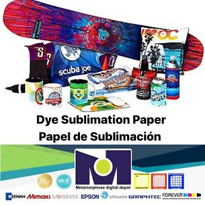 100-Sh-8-5x11-Dye-Sublimation-Heat-Transfer-Paper-for-Polyester-T-Shirts-Mugs