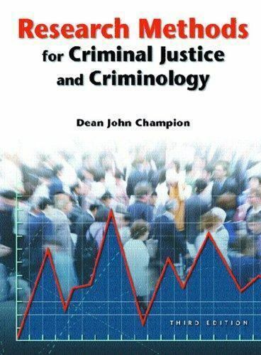 Research Methods for Criminal Justice and Criminology [3rd Edition]