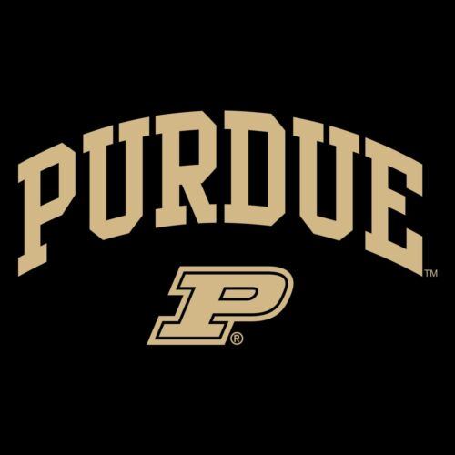 Purdue Boilermakers Arch Logo Licensed Unisex Creeper Black