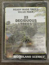 "94 model railroad Scenery TREES Woodland Scenics  2""- 6"""