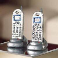 Cordless Telephones For A Dolls House, Miniature Phone 1.12 Scale