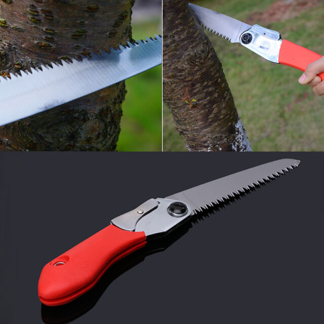 Gardening Portable Trimming Saw Folding Fruit Pruning Horticulture Hand Tool New