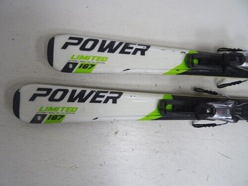 Ski Blizzard Power LTD 7.3 mit Bindung, Bindung, Bindung, 167cm (EE1152) 204dbe
