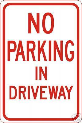"""/"""" NO PARKING /"""" METAL STREET SIGN GARAGE STORE SHOP DRIVEWAY YARD GATE MANCAVE"""