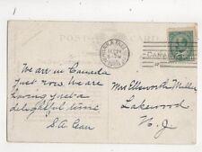 Mrs Ellsworth Miller Lakewood New Jersey USA 1909 321b