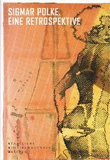Fachbuch Polke Retrospektive der Werke zwischen 1963 und 2005 mit vielen Bildern