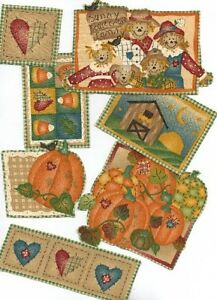 7-Fall-Country-Pumpkin-Patches-Iron-On-Fabric-Appliques-Autumn