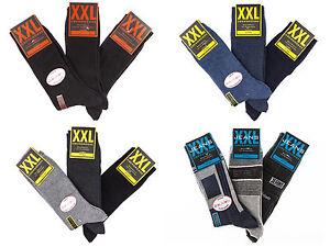 6-Paar-XXL-Herren-Socken-Gr-47-52-von-SOUNON