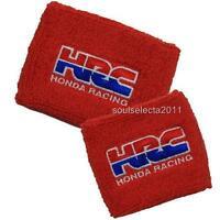 Hrc Honda Brake Reservoir Cover Oil Cup Cover Gp Sock Cbr 1000 600 Rr Red Set