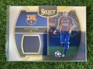 2016-17 Select Soccer NEYMAR JR. Memorabilia Patch Brazil PSG Barcelona