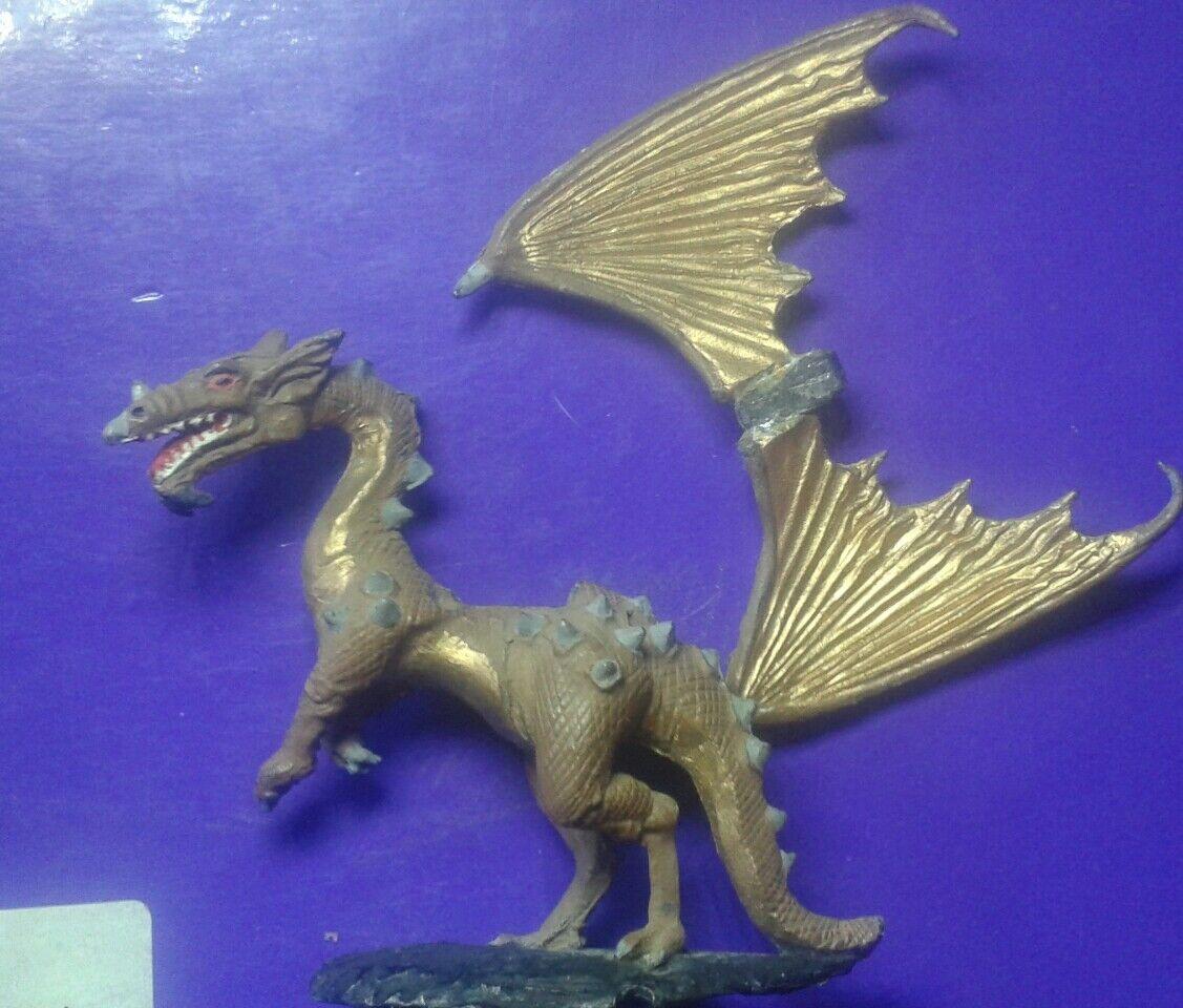 1x DRG4 gold dragon citadel gw games workshop dragons pre-slotta tail damage