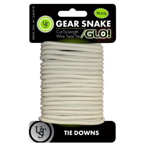 UST gear snake coupées à longueur fil Twist Ties Tie Downs pour matériel de camping