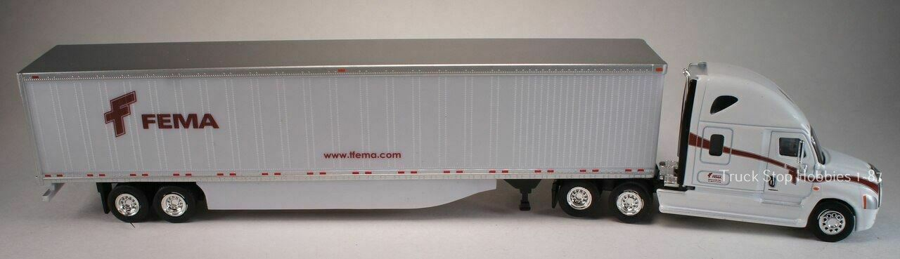 HO 1:87 TNS-93127  AAFES Freightliner Cascadia sleeper where Heros shop w// 53/'