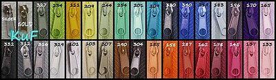 20 Zipper für #3 Reißverschluss endlos Spirale